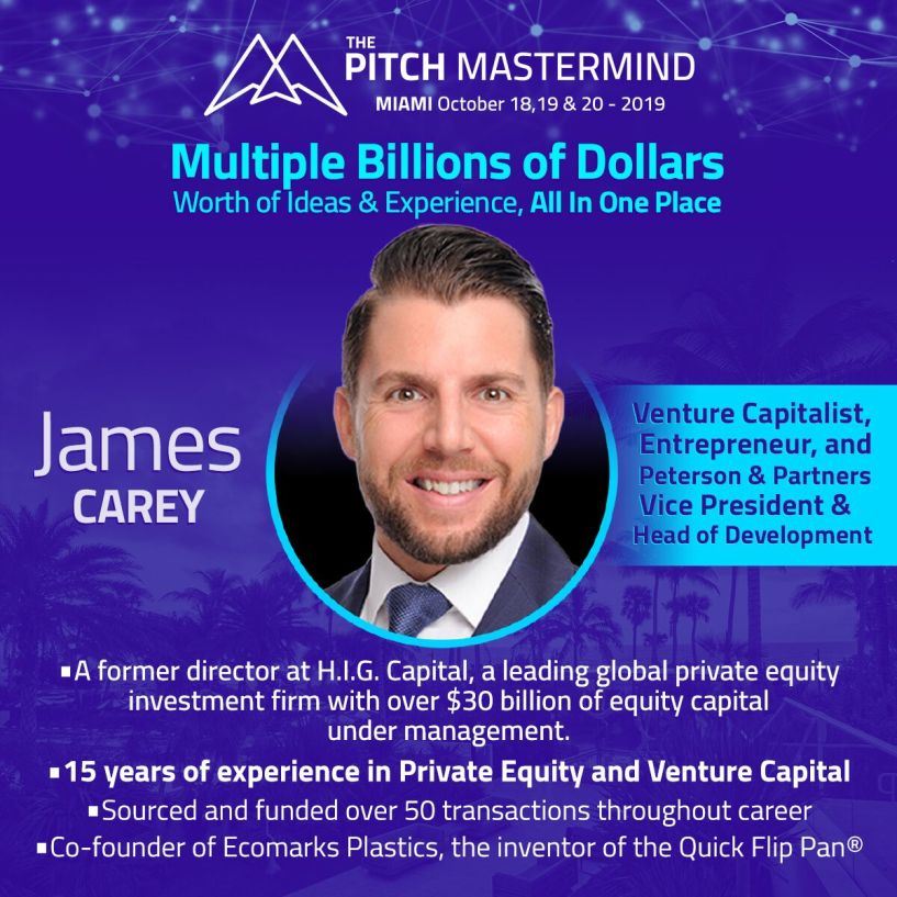the pitch mastermind James Carey