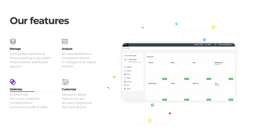Affise Review - Affise Features