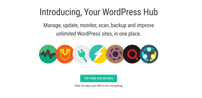The Hub WordPress Site Manager