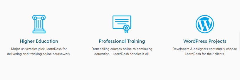 LearnDash is the go-to choice