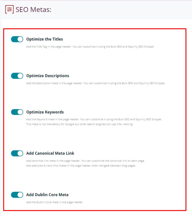 Duplicate Remover- SEO Metas