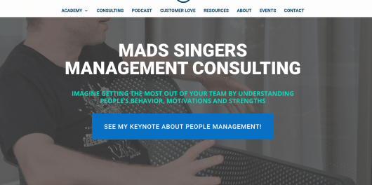 Mads Singer Management Consulting