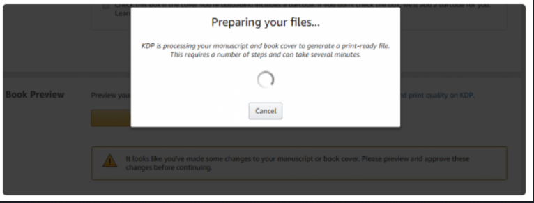 Start A Publishing Company With KDP- Preparing Your file
