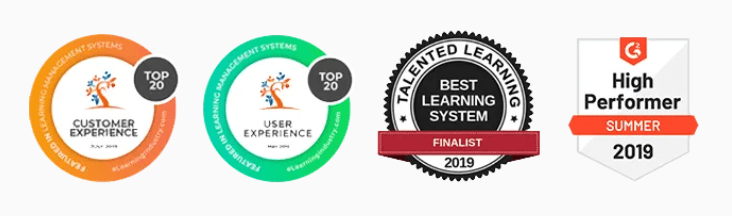 LearnWorlds Award & Achievements