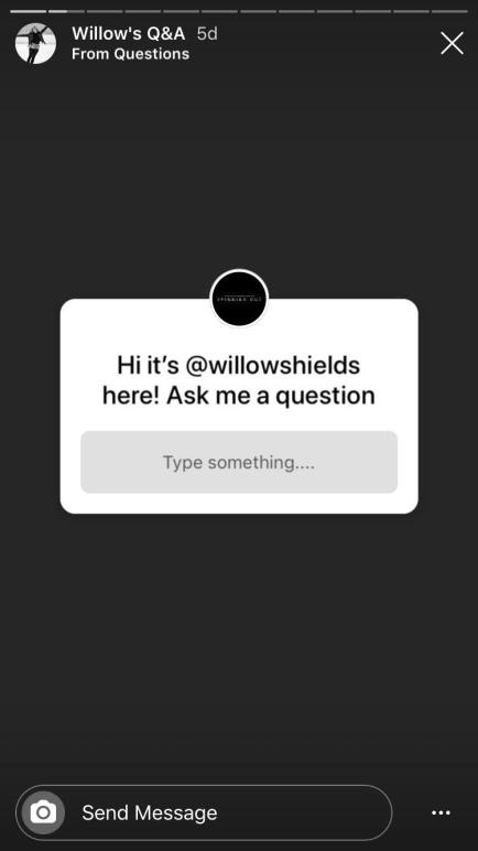 Willow Shields Q&A