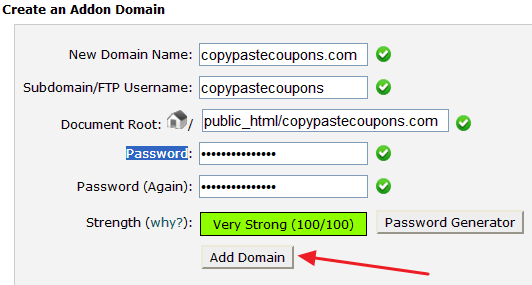 connect godaddy domain to hostgator - add domain