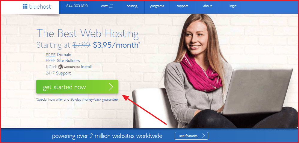 Best Personal Web Hosting Services - Bluehost