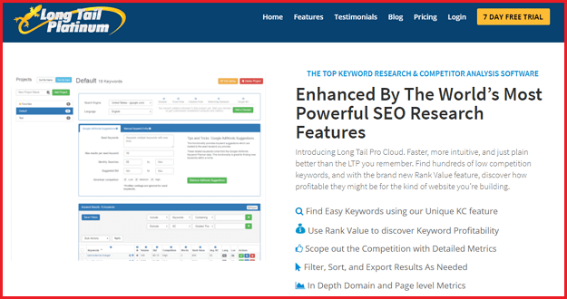7 Best Keyword Research Tools [For SEO] 2017 - For Any Type of Blogs - longtailpro