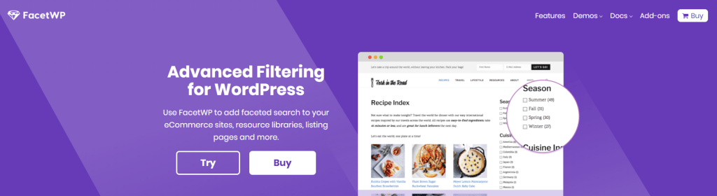 Premium WordPress Plugins v3.1.1 FacetWP - Advanced Filtering for WordPress