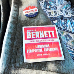 Jessie Bennett I Voted
