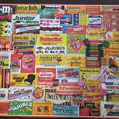 Candy Wrapper puzzle