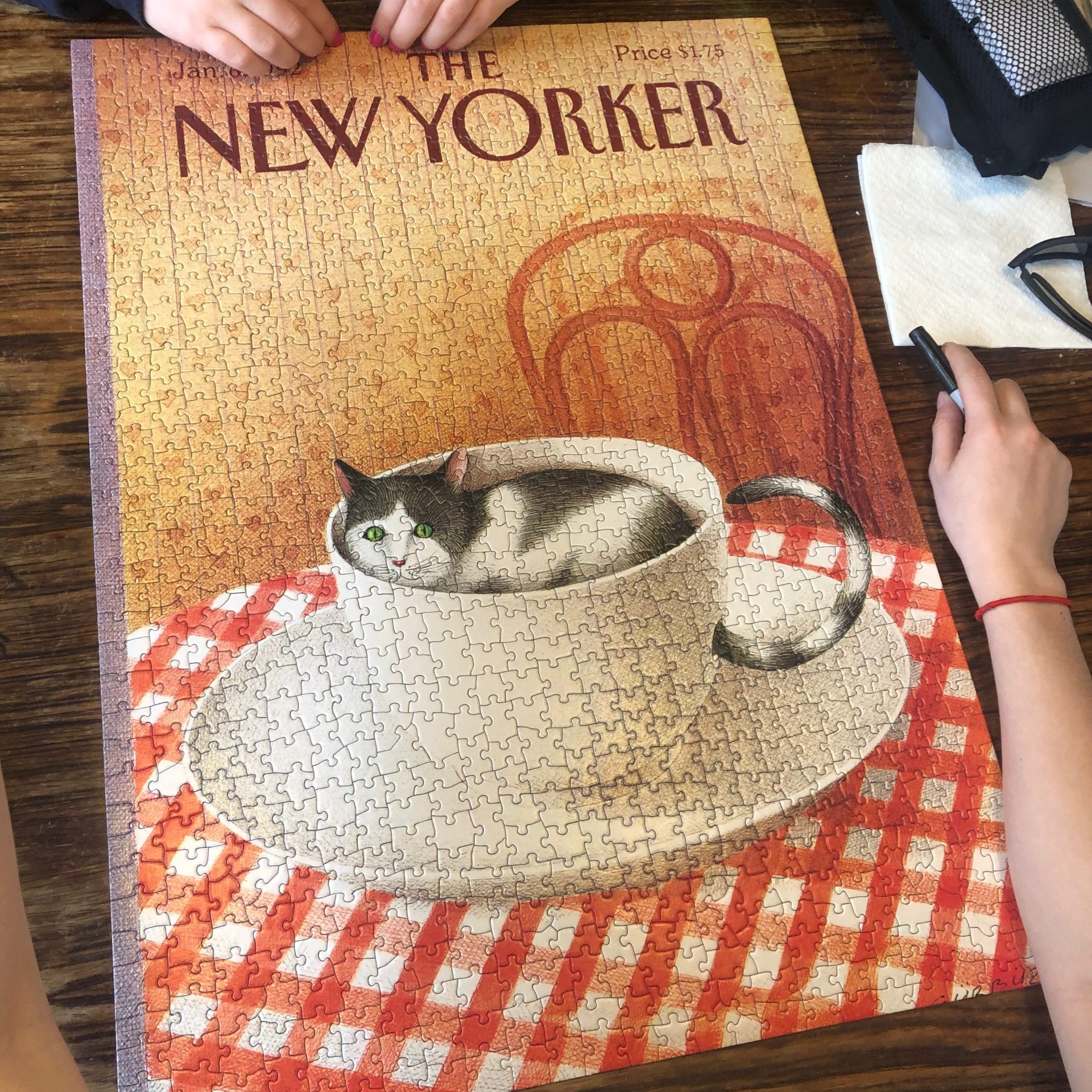 New Yorker Cover Puzzle