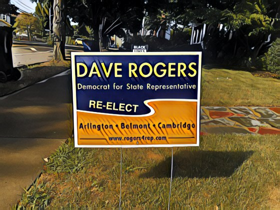 Dave Rogers for Rep Lawn Sign