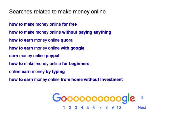 related seo keywords
