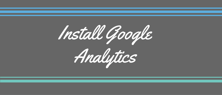 install google analytics in wordpress