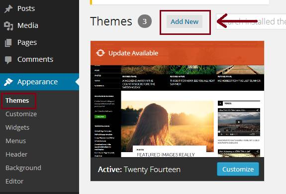 how to buy and install a wordpress theme
