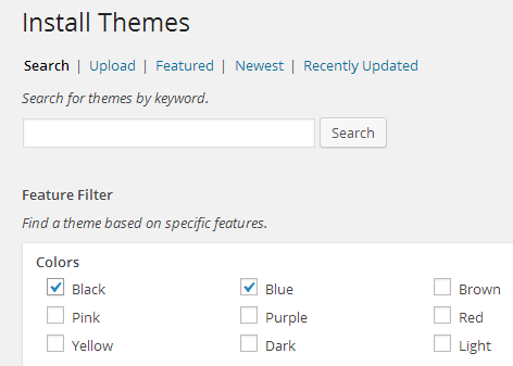 install a theme