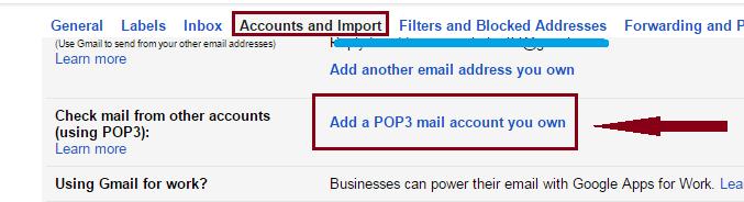Webmail account
