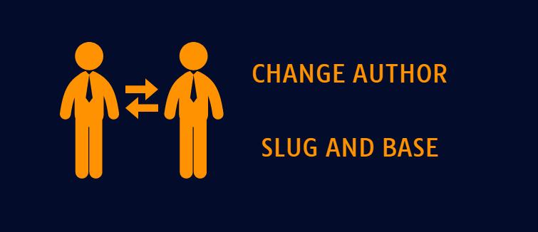 Change WordPress author slug
