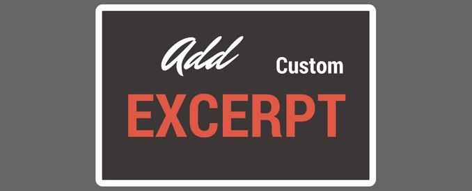 how to set excerpt length in wordpress