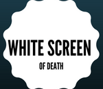 fix white screen of death