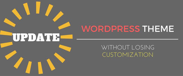 update wordpress theme manually