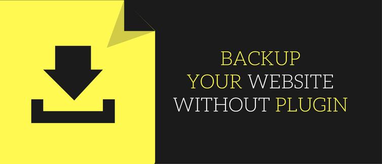 How To Backup Your WordPress Website