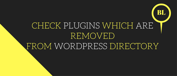 check plugins which are no longer present in wordpress directory