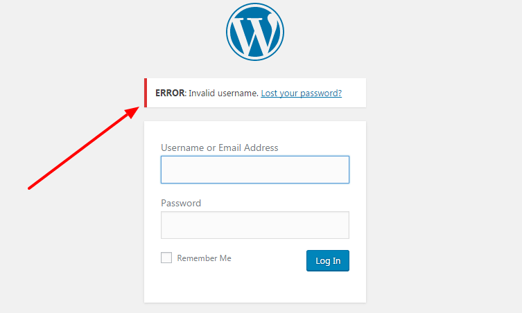 Disable email address login feature