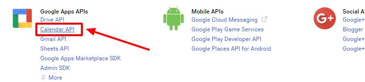 add google calendar