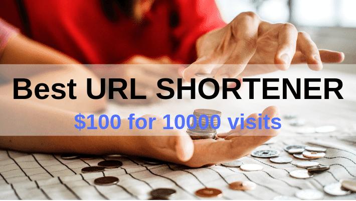 The Best URL SHORTENER Ever! {$100 for 10000 visits} – Blogging QnA