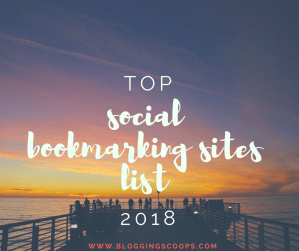 {Top 300} Social Bookmarking Sites List 2018