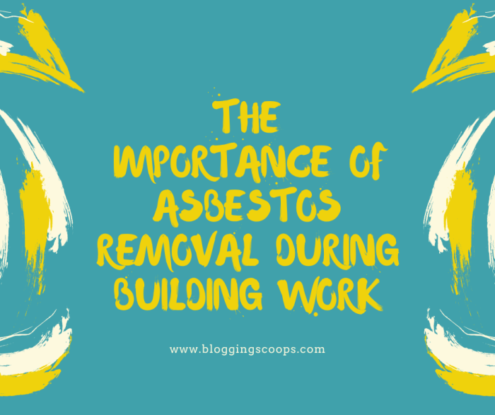 the importance of asbestos