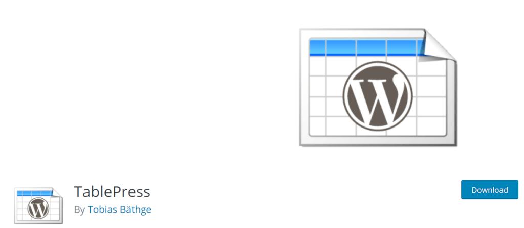 tablepress-wordpress-plugin
