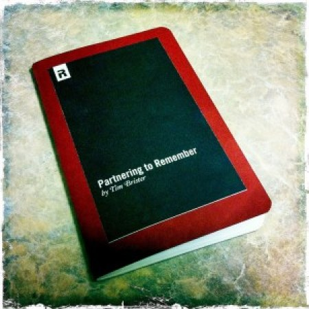 Memory Moleskine - Image by Tim Brister