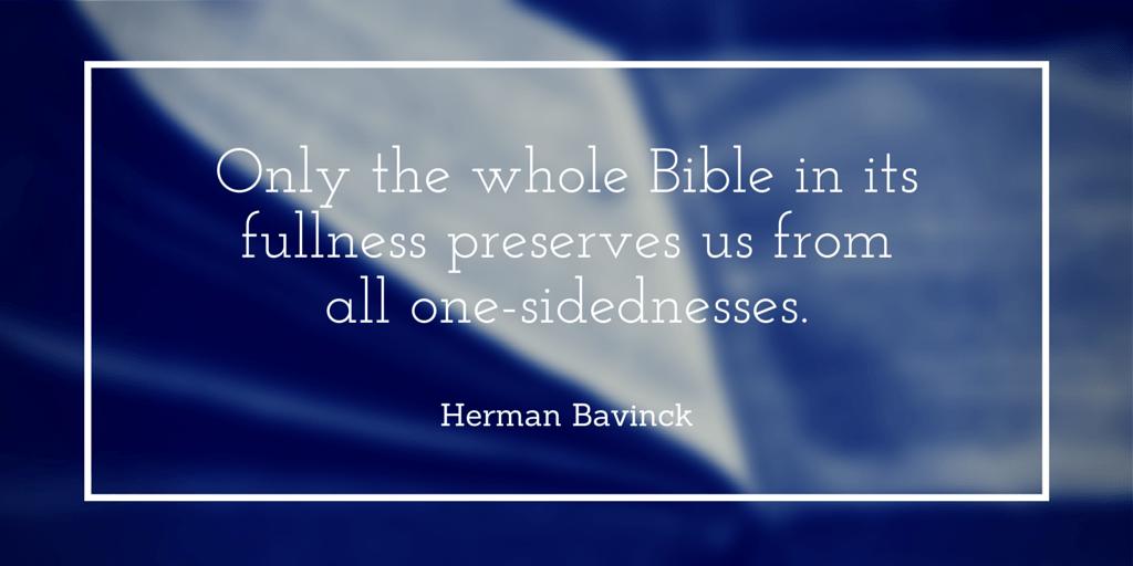 Whole Bible-Bavinck