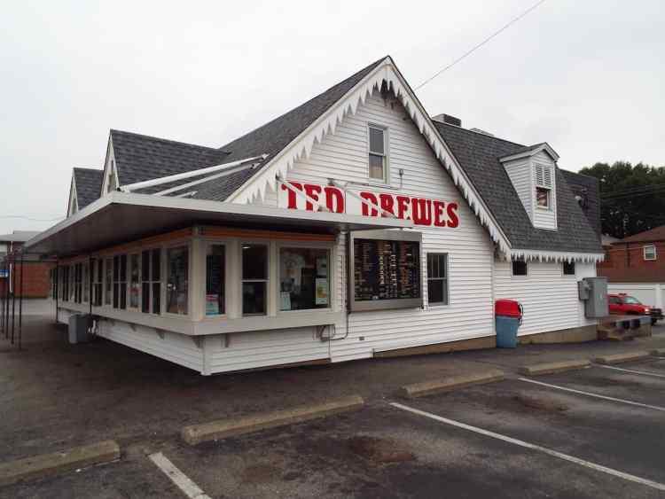 Ted Drewes Famous frozen Custard shop in St Louis