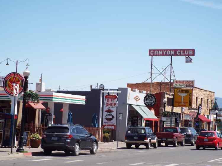 Williams Arizona, the gateway to the Grand canyon