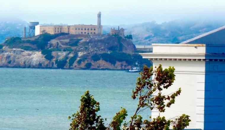 Alcatraz Island hotel room view
