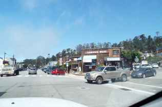 We stopped in Cambria for coffee