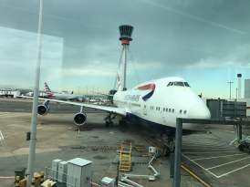 Random BA plane that we should have been flying on had i read the website properly when booking!