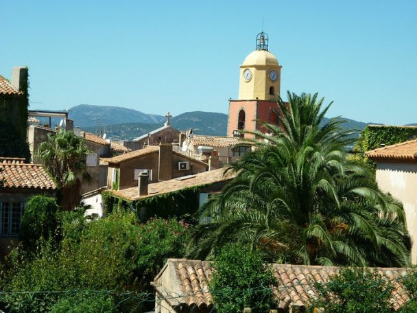 Saint Tropez roof tops