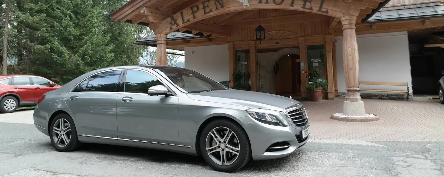 A Chauffeured journey from Austria