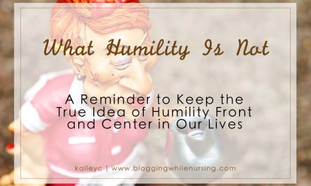 What Humility Is Not
