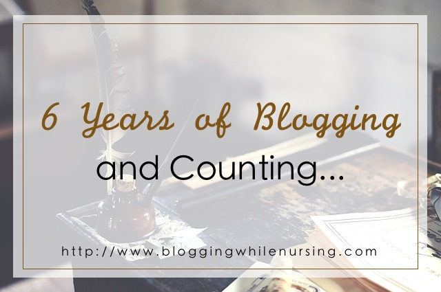6 Years of Blogging And Counting….