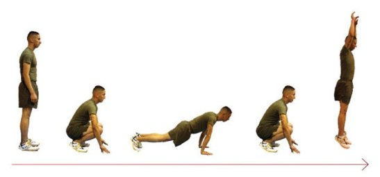 BURPEES AT HOME
