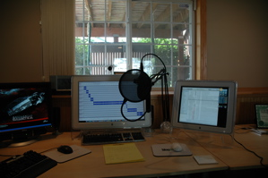 My podcasting view