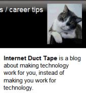Engtech - Internet Duct Tape blog description