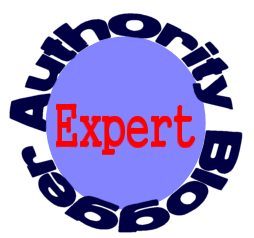 Authority Blog Expert badge - graphic copyright Lorelle VanFossen