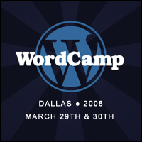 WordCamp Dallas 2008